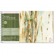 Альбом на спирали MIX Carnet de Voyage Bamboo 15.3х25 15л 265г Hahnemuhle