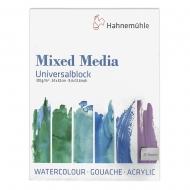 Блок бумаги  MIX Universal  310г/м2 25 листов fine Hahnemuhle