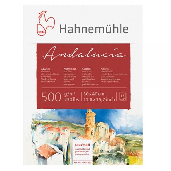 Блок бумаги WC Andalucia  30х40 12 л. 500 г/м2 СР & rough Hahnemuhle (10628525)