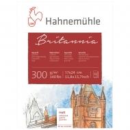 Блок WC Britannia 17х24 12 л 300г СР Hahnemuhle