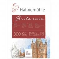 Блок WC Britannia 24х32 12 л 300г rough Hahnemuhle