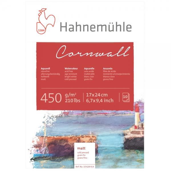 Блок бумаги WC Cornwall 24х32 10 л 450г СР Hahnemuhle