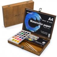 Подарочный набор для акварельной живописи Monet Premium