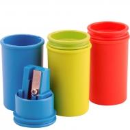Точилка с контейнером KUM Mini Pop пластик,1 отделение
