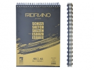 Альбом для эскизов на спирале Schizzi Sketch A3 (29,7x42 см), 90г/м2, 100л., Fabriano