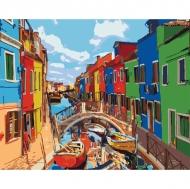 Картина по номерам Идейка 40*50см Красочные города (КНО3502)