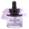 Краска акварельная жидкая Ecoline 579 Пастельно фиолетовая