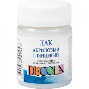 """Лак акриловый глянцевый """"DECOLA"""", 50 мл"""