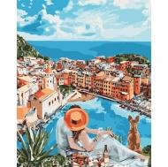 Картина по номерам Идейка 40х50см Итальянская романтика (КНО4647)