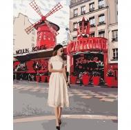 Картина по номерам Идейка 40х50см Moulin Rouge (КНО4657)