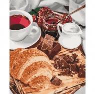 Картина по номерам Идейка 40х50см Французкий завтрак (КНО5573)