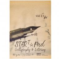 Склейка для калиграфии та леттеринга STAR T А4, 90г/м2, 30л, SMILTAINIS