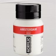 Краска акриловая AMSTERDAM (105) Белила титановые 500 мл Royal Talens