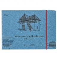 Альбом для акварели SMILTAINIS AUTHENTIC 12л А5 24,5х17,6см 280г/м2 12л