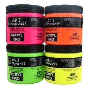 Акриловая флуоресцентная краска ART kompozit 430мл