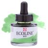 Краска акварельная жидкая Ecoline 601 Зеленая светлая