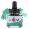 Краска акварельная жидкая Ecoline 602 Зелёная темная