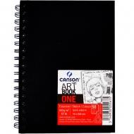Скетчбук для эскизов на спирали Canson Art Book One 100 г/м2 14x21,6 см 80 л (0039-211)