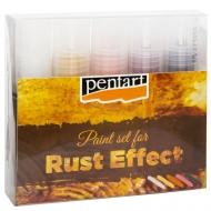 Набор материалов для создания эффекта ржавчины 5*20 мл Pentart