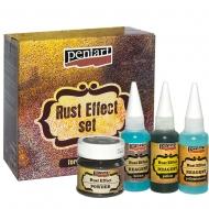 Набор материалов для создания эффекта Ржавчины Pentart