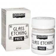 Паста для травления стекла 50мл Pentart