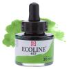 Краска акварельная жидкая Ecoline 657 Зелена бронзовая