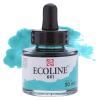 Краска акварельная жидкая Ecoline 661 Бирюзовая зеленая
