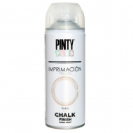 Грунт-аэрозоль Chalk-finish Белый матовый 400 мл PINTYPLUS