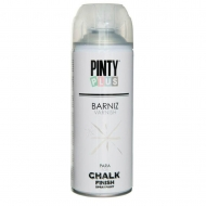 Лак-аэрозоль Chalk-finish матовый 400мл PINTYPLUS