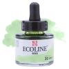 Краска акварельная жидкая Ecoline 666 Зеленая пастельная