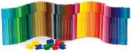 Фломастеры 50 цветов. CONNECTOR пластиковая банка