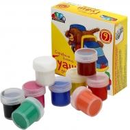 Набор гуашевых красок Любимые игрушки 9 цв (10мл) Гамма