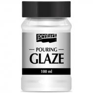 Финишный лак Pouring glaze Прозрачный 100 мл