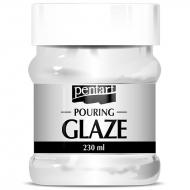 Финишный лак Pouring glaze Прозрачный 230 мл