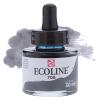Краска акварельная жидкая Ecoline 706 Серая темная