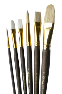 Набор кистей KOLOS 7068 для масляной живописи, 6 шт.