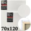Холст на подрамнике Monet итальянский хлопок среднее зерно 70*120 см (MN70120)