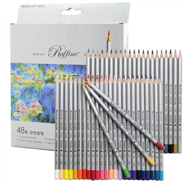 Карандаши цветные Marco Raffine 48 цветов