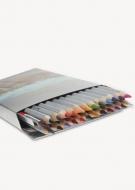 Карандаши акварельные Marco Raffine 24 цвета + кисточка