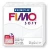 Полимерная глина (пластика) Fimo Soft, 57г, Белая
