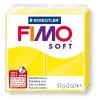 Полимерная глина (пластика) Fimo Soft, 57г, Лимонная