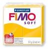Полимерная глина (пластика) Fimo Soft, Желтая, 57г