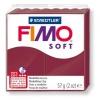 Полимерная глина (пластика) Fimo Soft, Бордовая, 57г