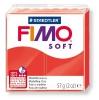 Полимерная глина (пластика) Fimo Soft, 57г, Индийская красная