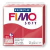 Полимерная глина (пластика) Fimo Soft, Вишневая, 57г