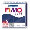 Полимерная глина (пластика) Fimo Soft, 57г, Синяя королевская