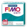 Полимерная глина (пластика) Fimo Soft, Бирюзовая, 57г