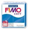 Полимерная глина (пластика) Fimo Soft, 57г, Синяя