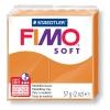 Полимерная глина (пластика) Fimo Soft, 57г, Оранжево-солнечный