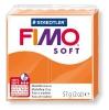Полимерная глина (пластика) Fimo Soft, 57г, Оранжевая
